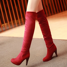 Ericdress Modern Platform Stiletto Heel Knee High Boots