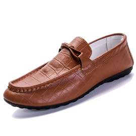 Ericdress Fashion PU Thread Men's Moccasin Gommino