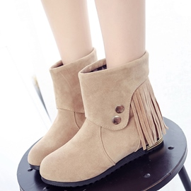 Ericdress Lovely Fringe Ankle Boots