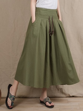 Ericdress Chinese Pastoral Usual Skirt