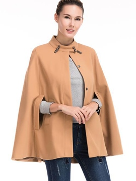 Ericdress Loose Round Neck Cape