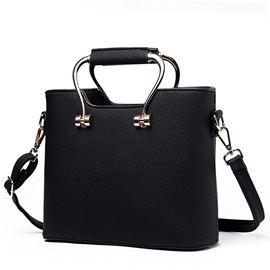 Ericdress Sweet Pure Color Handbag