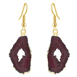 Ericdress Geometric Natural Stone Pendant Earrings