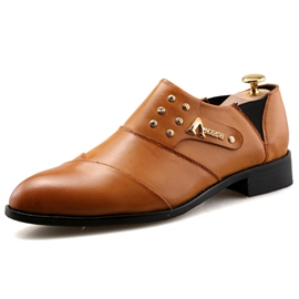 Ericdress British PU Low Cut Men's Oxfords