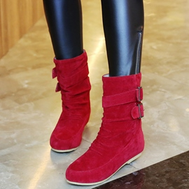 Ericdress Pretty Buckles Ankle Boots