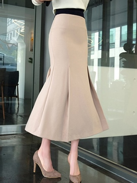 Ericdress Ladylike Mermaid Column Skirt