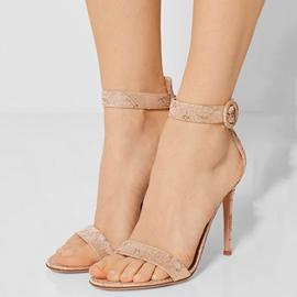 Ericdress Open Toe Ankle Strap Stiletto Sandals