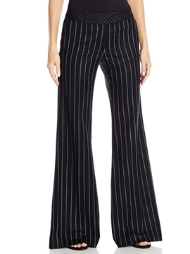 Ericdress Unique Stripe Flared Pants