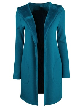 Ericdress Casual Loose Fleece Coat