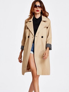 Ericdress European Loose Trench Coat