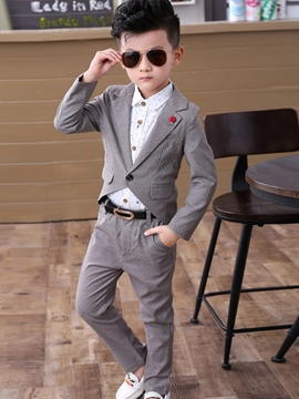 Ericdress 3 Colour Boys Dress Suit Set