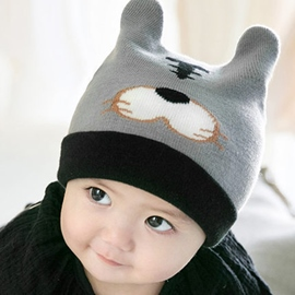 Ericdress Tiger Decorated Warm Baby's Knitted Hat