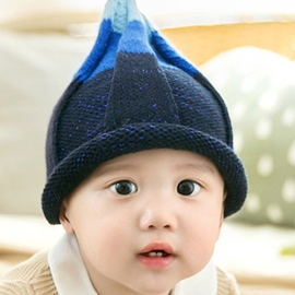 Ericdress Cone Crown Design Kid's Knitted Hat