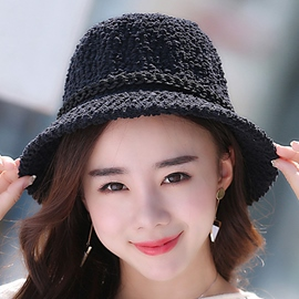Ericdress Pure Color Warm Bucket Hat