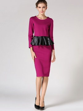 Ericdress Ladylike Frill Top Leisure Suit