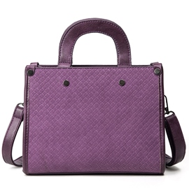Ericdress Knitted Embossed Handbag