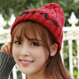 Ericdress Cone Crown Woolen Yarn Hat for Women