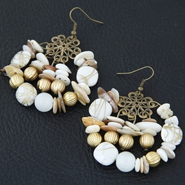 Ericdress Bohemia Shell Design Earrings