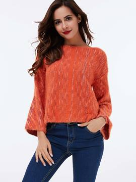 Ericdress Flare Sleeve Loose Knitwear