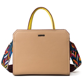 Ericdress Temperament Colorful Stripe Handbag