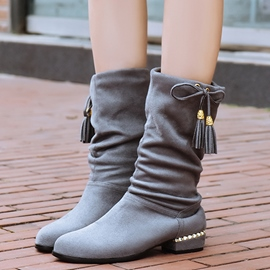 Ericdress Lovely Bowtie Tassels Ankle Boots