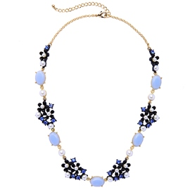 Ericdress Artificial Gems Inlaid Alloy Necklace