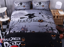 Ericdress Quirky Halloween 3D Bedding Sets