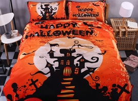 Ericdress Halloween Magic House Print 3D Bedding Sets