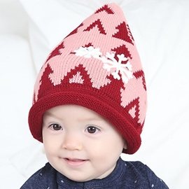 Ericdress Snowflake Decorated Rolled Brim Kid's Hat