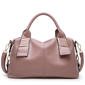 Ericdress Soft Exquisite Solid Color Handbag