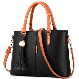 Ericdress Versatile Simple Tassel Handbag