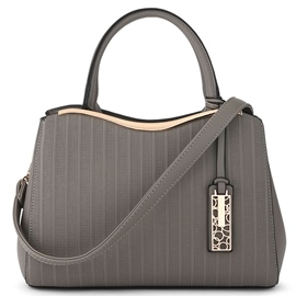Ericdress Casual Stripe Embossed Handbag