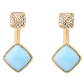 Ericdress Diamante Geometric Earrings