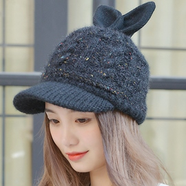 Ericdress Lovely Rabbit Ears Design Women's Hat