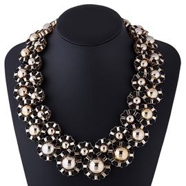 Ericdress Exaggerated Short Statement Necklace