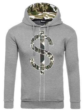 Ericdress Camouflage Print Pullover Casual Men's Hoodie