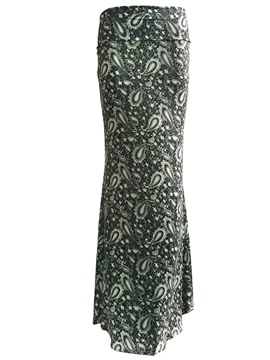 Ericdress Bohemian Print Bodycon Maxi Skirt