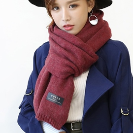 Ericdress Winter Warm Woolen Yarn Scarf