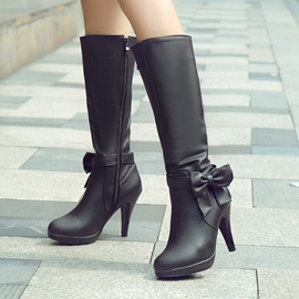 Ericdress Lovely Bowknot Knee High Boots