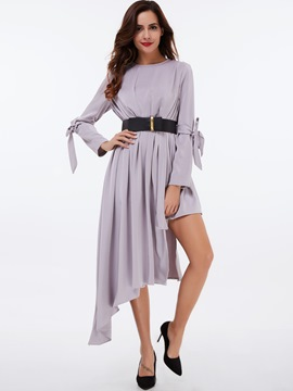 Ericdress Spaghetti Strap Elastic Pleated Casual Dress