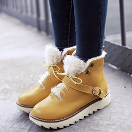 Ericdress New Bright Color Snow Boots