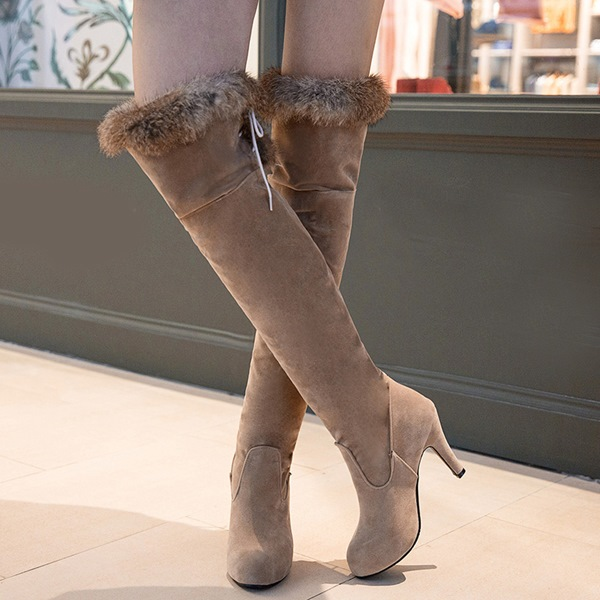 Splendid Point Toe Thigh High Boot