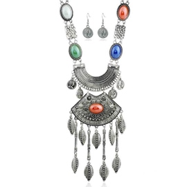 Ericdress Multicolor Resin Inlaid Alloy Jewelry Set