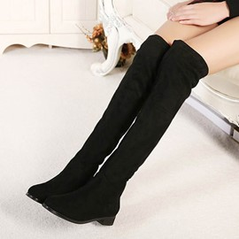 Ericdress Shart Floss Thigh High Boots