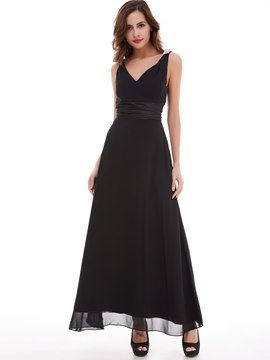 Ericdress Straps Beading Sashes Evening Dress