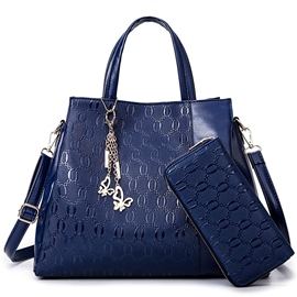 Ericdress Vogue Chain Embossed Handbags(2 Bags)