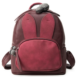 Ericdress Color Block Rabbit Ear Backpack