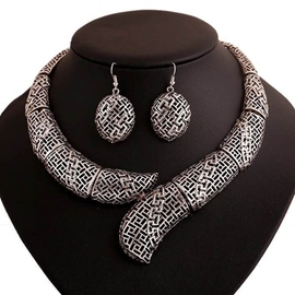 Ericdress Trendy Alloy Hollow-Out Jewelry Set