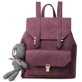 Ericdress Preppy Lock Decorated Backpack