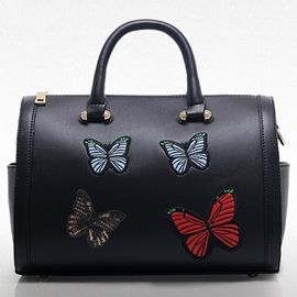 Ericdress All Match Butterfly Embroidery Handbag